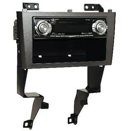 Scosche Nn1648b 2000 2003 Nissan Maxima Din W Pocket And Double Mounting Dash Kit For Car Radio Stereo Installation