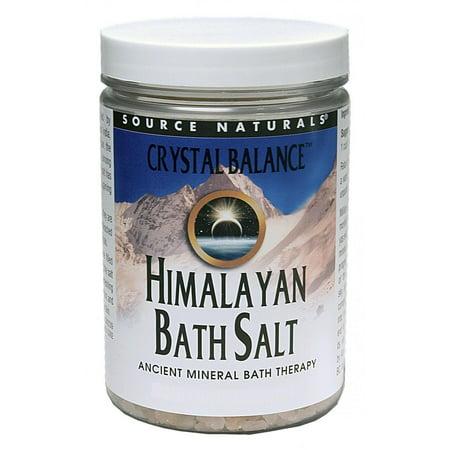 Crystal Balance Himalayan Bath Salt Source Naturals, Inc. 25 oz Bath Salt
