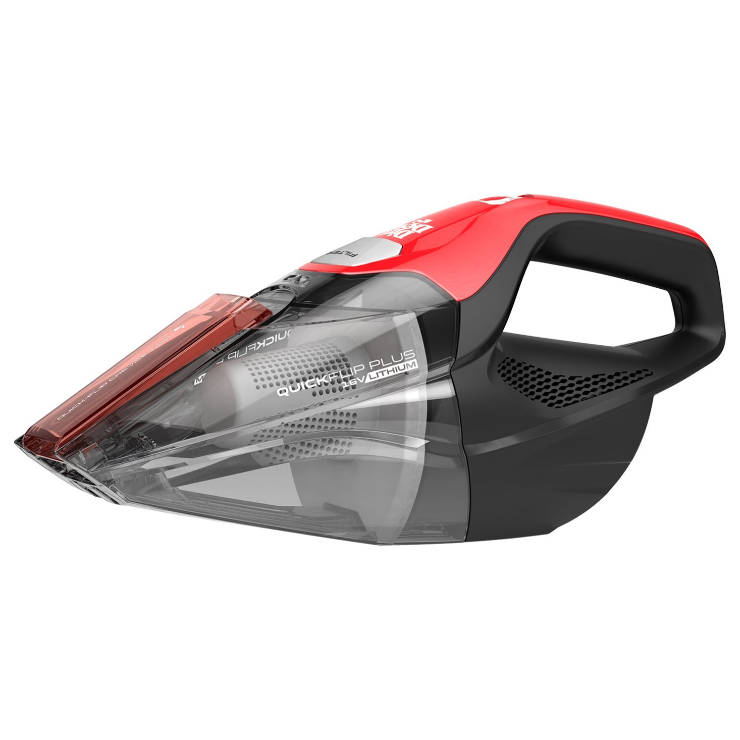 Dirt Devil Quick Flip Plus Cordless 16 Volt Lithium Ion Bagless Handheld Vacuum