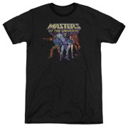 Masters Of The Universe Team Of Villains Mens Adult Heather Ringer Shirt