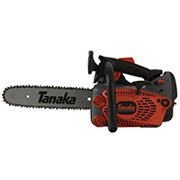 Tanaka TCS33EDTP/14 Chainsaw, 32.2 cc, 2-Stroke Engine, 14 in L Bar/Chain, Top Handle