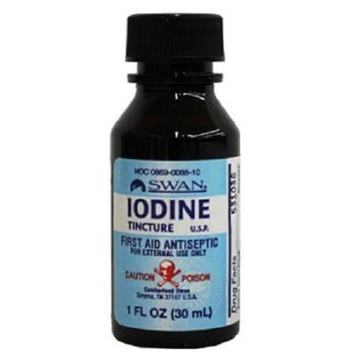 Swan Iodine Tincture, 1 fl. oz.