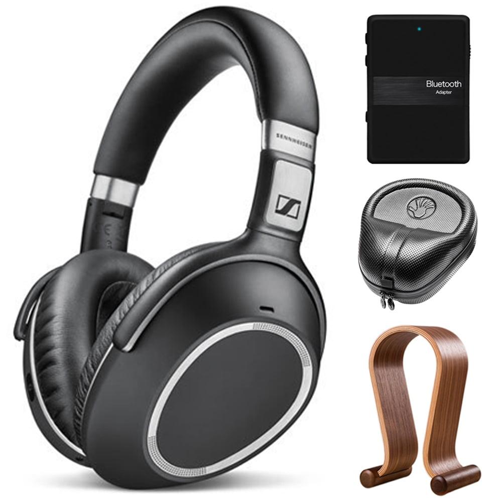 Sennheiser Wireless Noise Cancellation Bluetooth Headphones with Stand Bundle