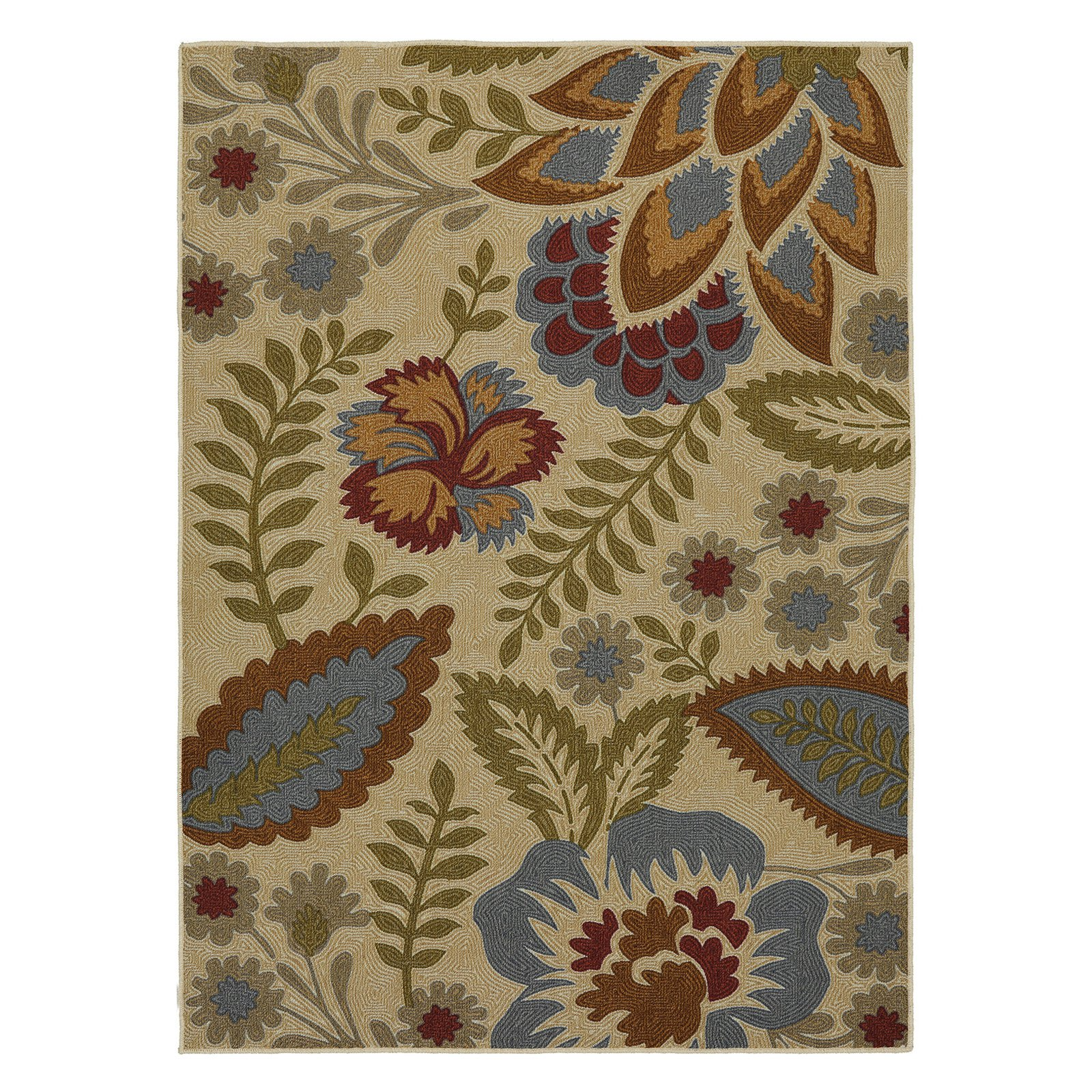 Mohawk Home Soho Crewel Floral Spice Area Rug (5'x7') by Mohawk Home