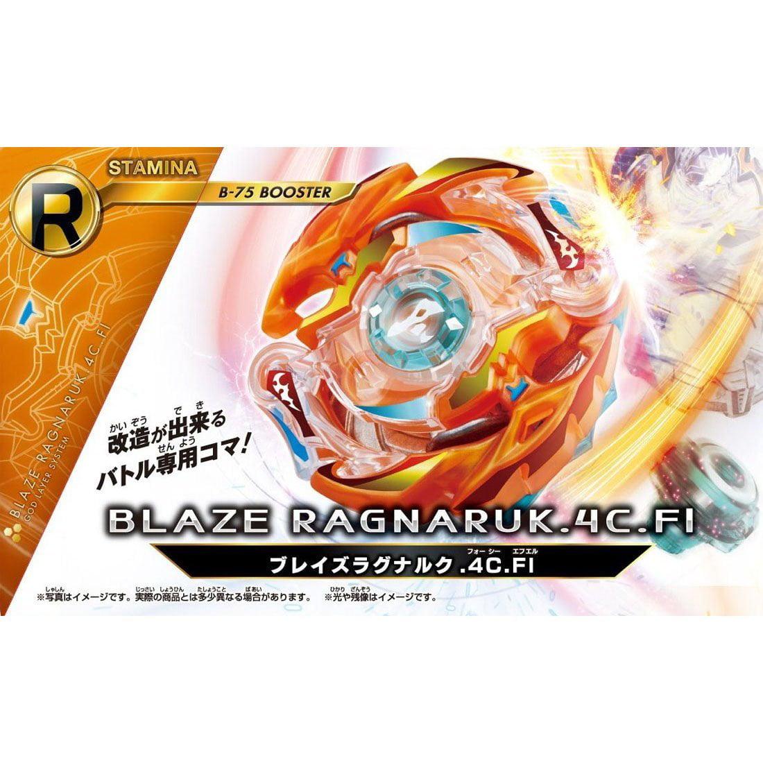 Burst B-75 Booster Blaze Ragnaruk .4C.Fl