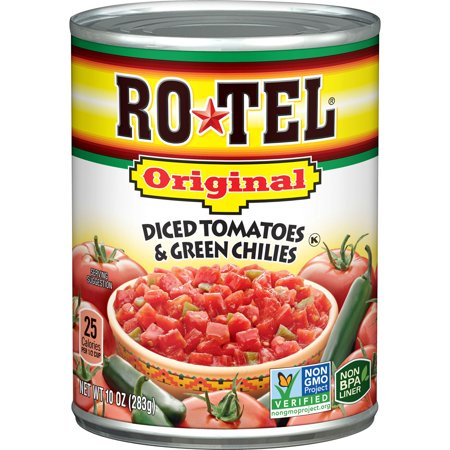 ROTEL Original Diced Tomatoes and Green Chilies, 10