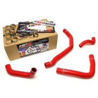 HPS Blue Reinforced Silicone Radiator Coolant Hose Kit (4pc set) for rear engine for Toyota 90-99 MR2 3SGTE Turbo