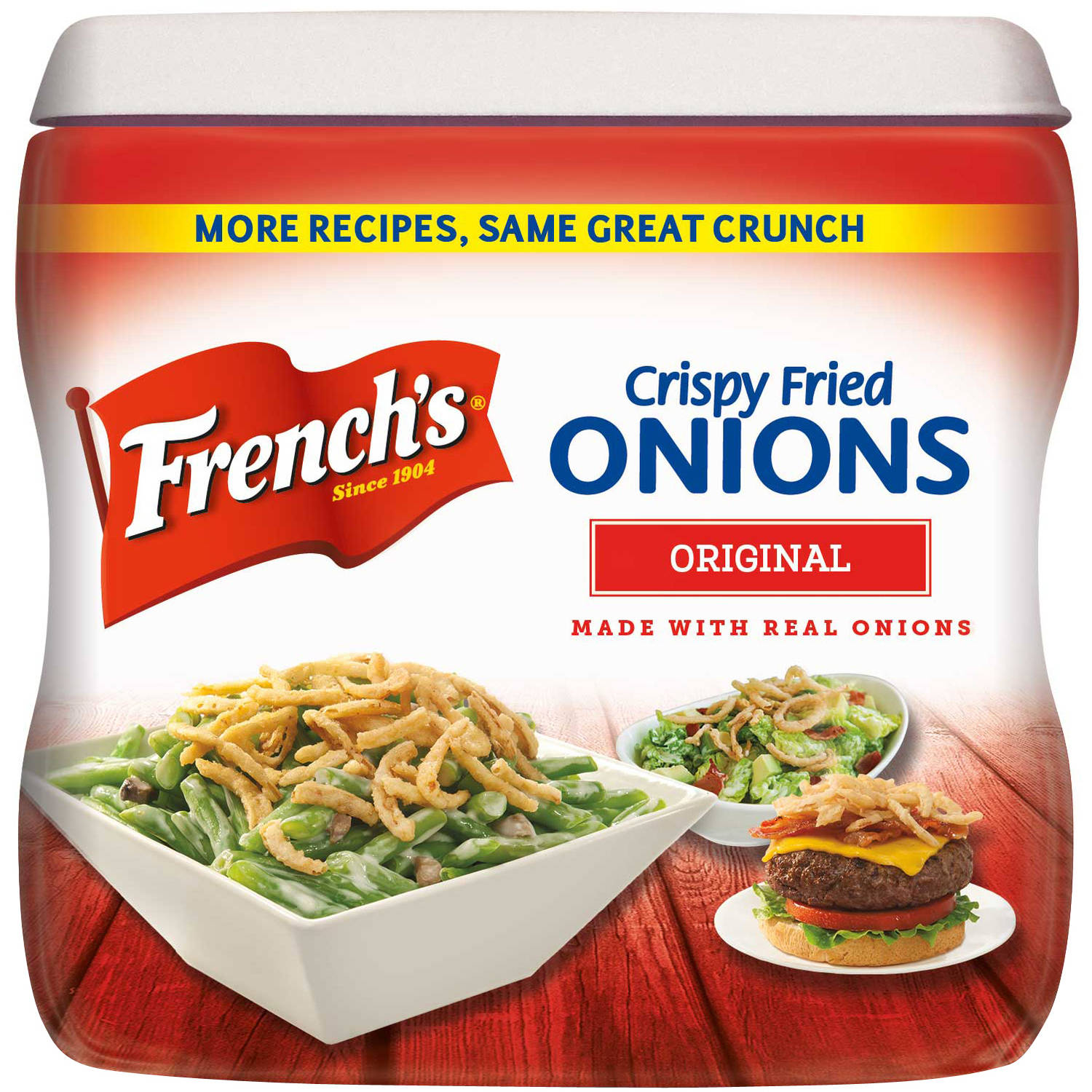 French's Crispy Fried Onions Original, 6 oz