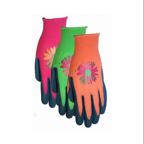 MIDWEST QUALITY GLOVES Ladies Latex Dipped Gripping Glove- Small