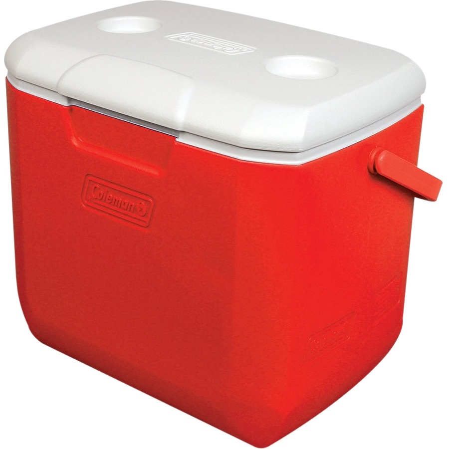 Coleman 30-Quart Cooler 7.50-Gallon, Red