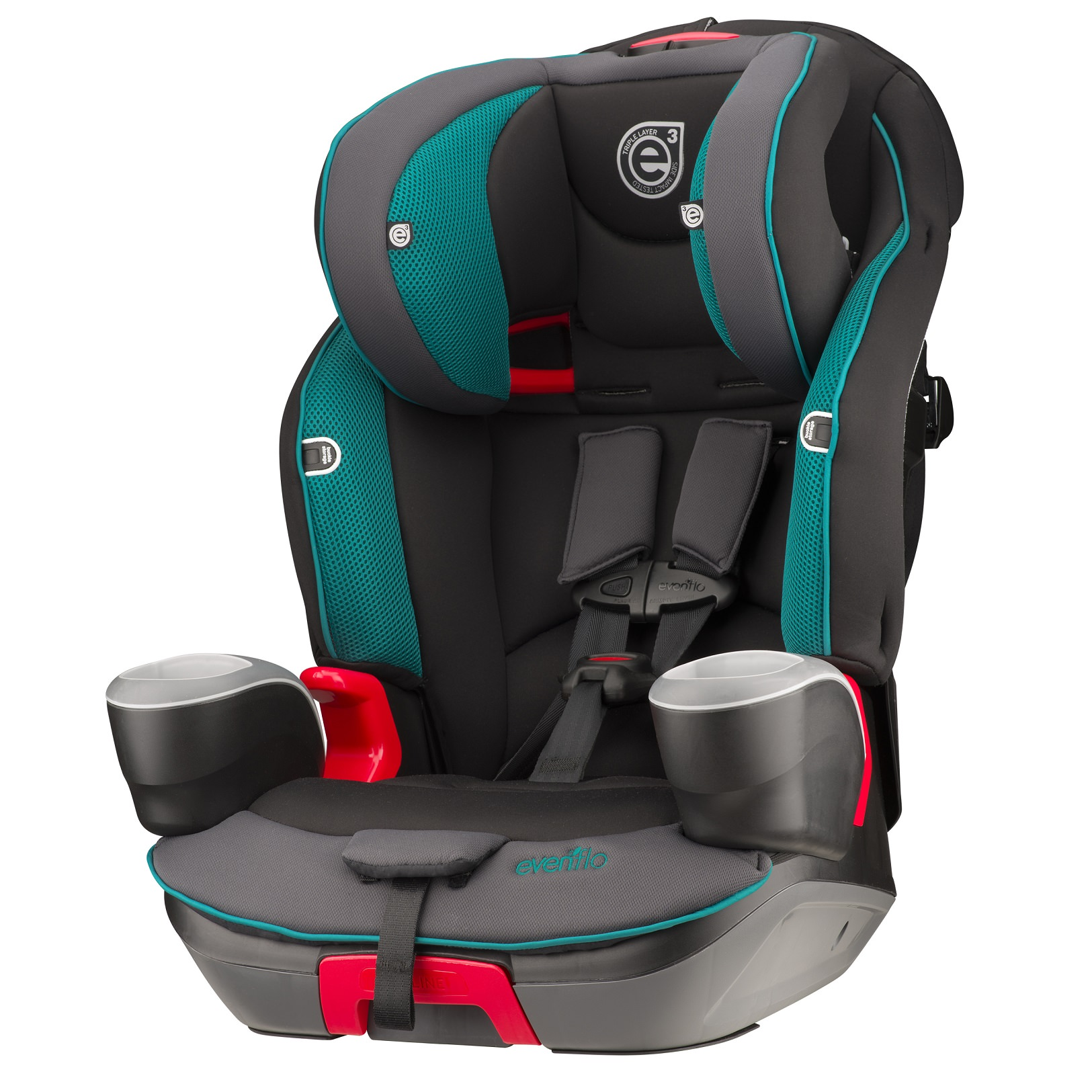 Evenflo Evolve™ 3-In-1 Combination Booster Car Seat, Waterfall Mist