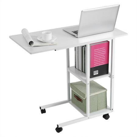 Overbed table medical adjustable portable notebook desk for Divan overbed table