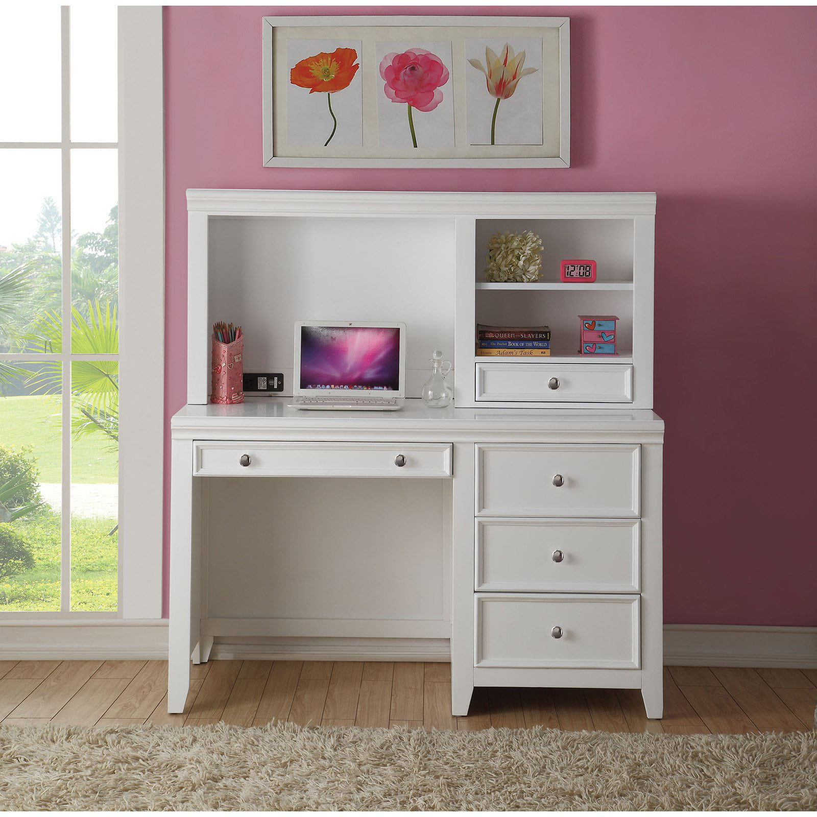 Acme Furniture Kids Desk With Optional Hutch Walmart Com