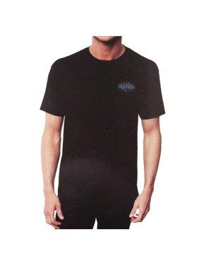 Hang Ten Men Short Sleeve Crew Neck Graphic T-Shirt Black M