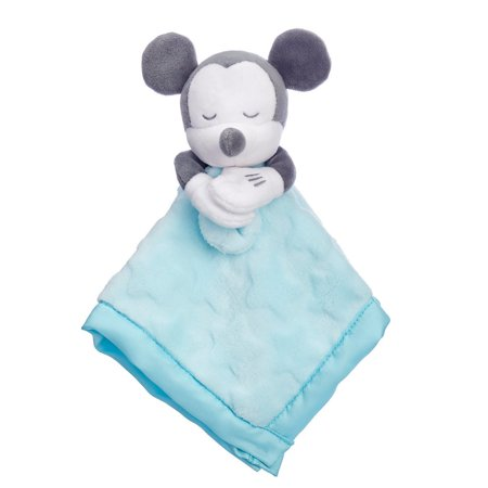 Disney Mickey Mouse Plush Blankie for Baby New with Tag (Baby Mickeymouse)
