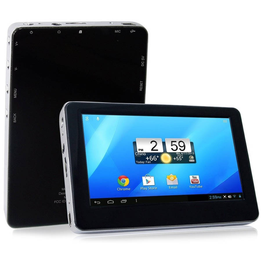 "Sungale ID436WTA with WiFi 4.3"" Touchscreen Tablet PC Featuring Android Operating System"