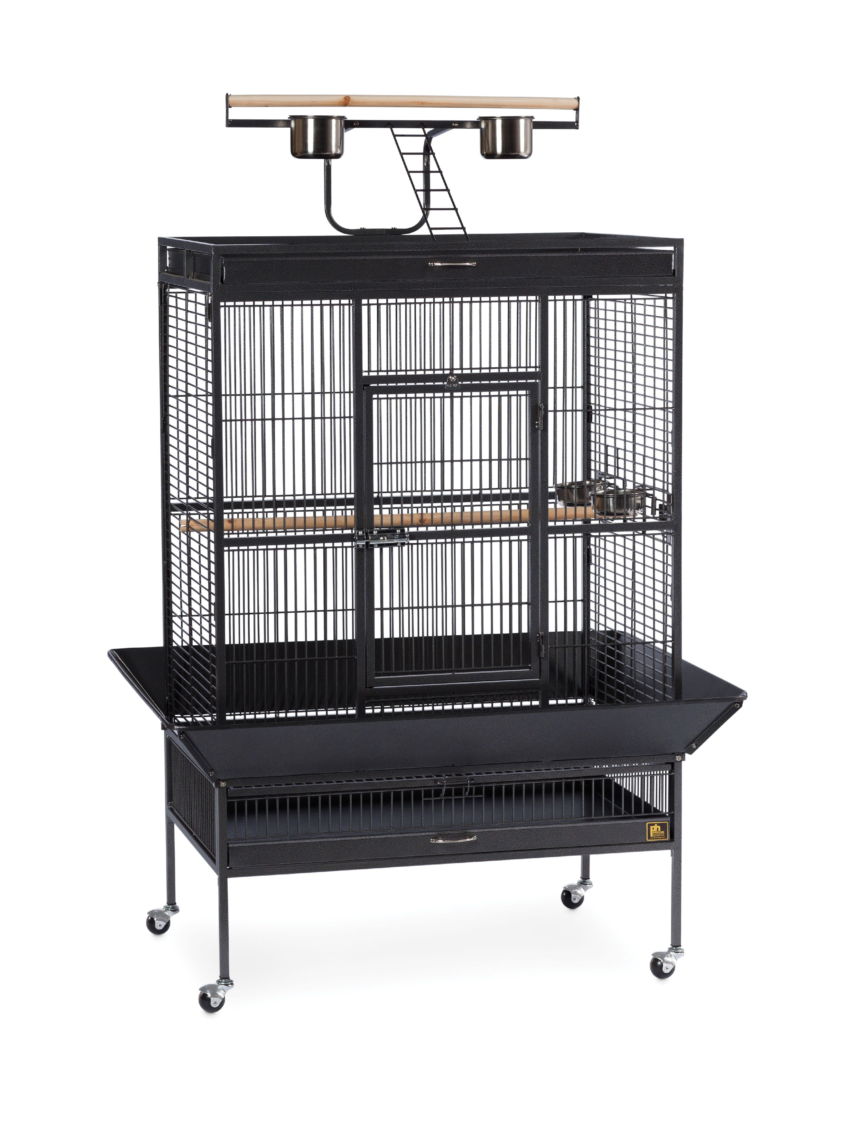 Prevue Pet Products Signature Select Series Wrought Iron Bird Cage Black Hammertone by Prevue Pet