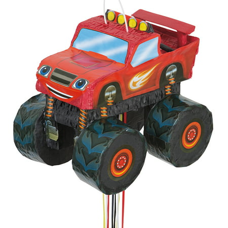 Blaze And The Monster Machines 3D - Monster Themed Birthday