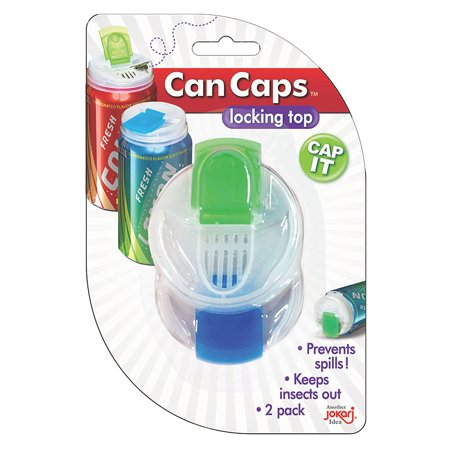Soda Can Covers 1 Pack (4 pieces) for Carbonated Water or Soft Drink - Best Beer Cans Cover Easy Clip on Caps Lid Seal Opening for a Fresher.., By (Best Way To Cover Beer Breath)