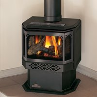 Napoleon GDS28-1SB 30000 BTU Free Standing Direct Vent Natural Gas Stove