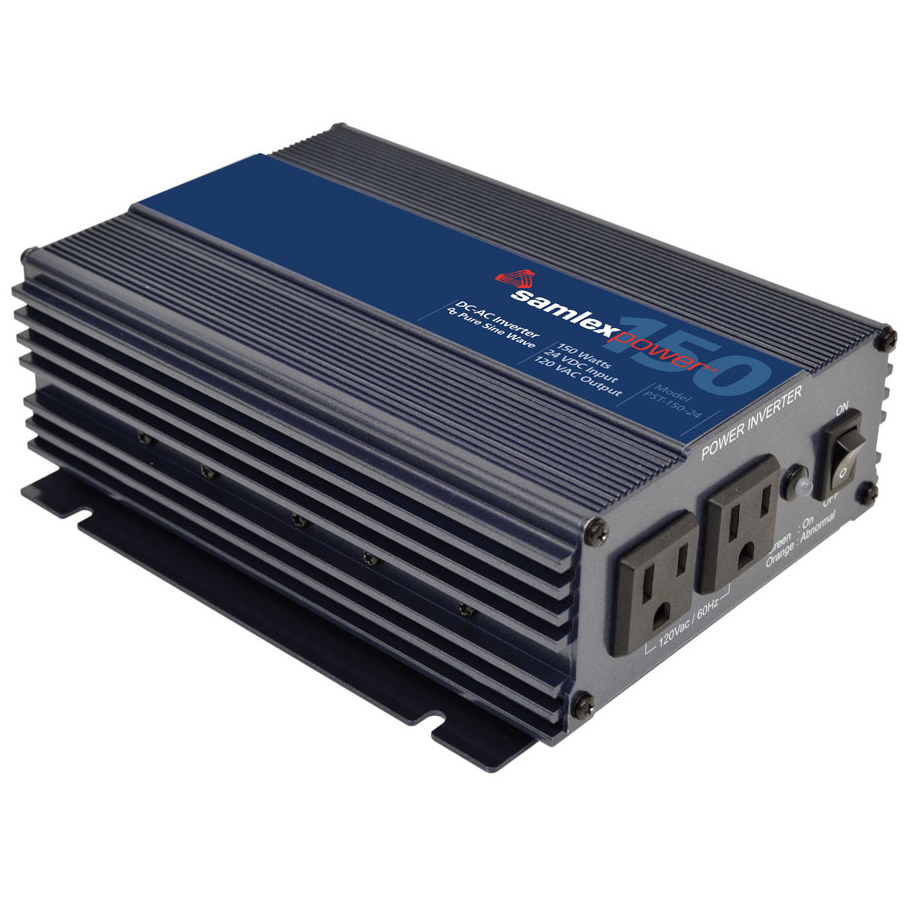 Samlex PST-150-24 Pure Sine Wave Inverter 150W 24VDC