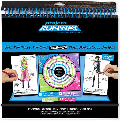 Project Runway Fashion Design Challenge Sketchbook