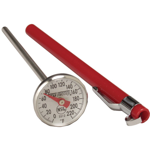 "Taylor 3512 Instant Read 1"" Dial Thermometer"