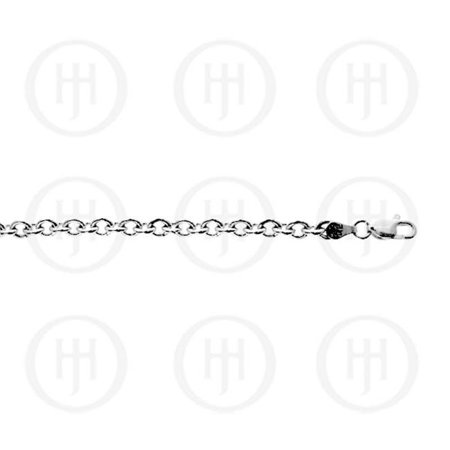 Doma Jewellery MAS04099-20 Sterling Silver -Basic Chain Rolo 05 -ROLO-OV120 20 inches - image 1 of 1
