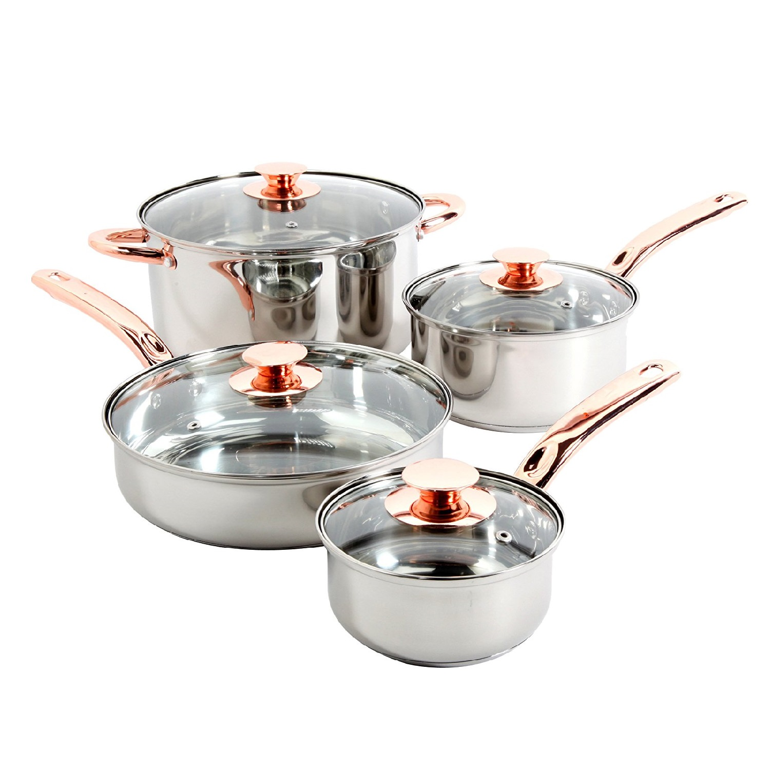 Sunbeam Ansonville 8 Pc. Cookware Set