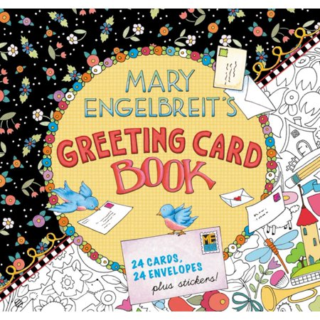 Mary Engelbreit's Greeting Card Book : 24 Cards, 24 Envelopes, Plus Stickers! - Engelbreit Halloween
