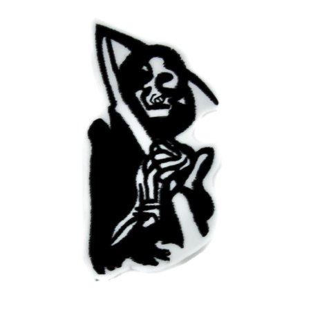 Sons Of Anarchy Patches (Grim Reaper Iron On Patch Sons of Anarchy)