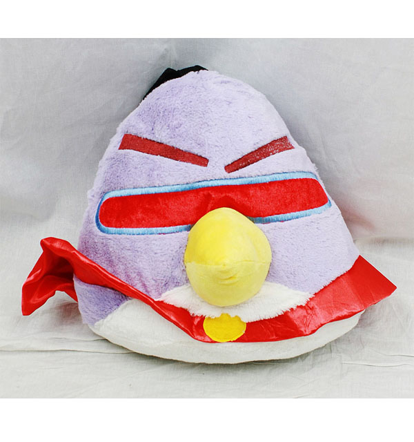 Plush Backpack - Angry Birds - Space Purple New Soft Doll Toys an11449