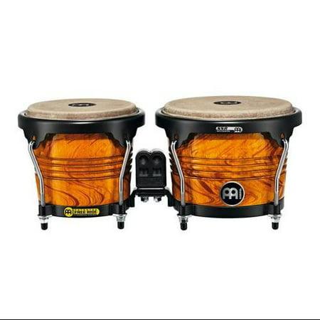 Signature Series Bongos - Meinl Percussion Marathon Designer Series Amber Flame Wood Bongos