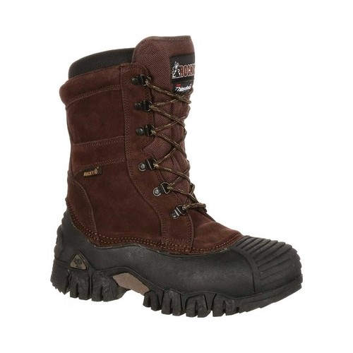 "Men's Rocky 10"" Jasper Trac Insulated Outdoor 4799 by Rocky"
