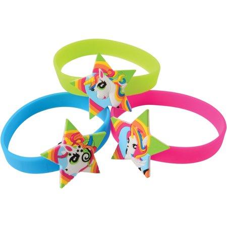 Unicorn Rubber Bracelets Easter Egg Filler 2.5