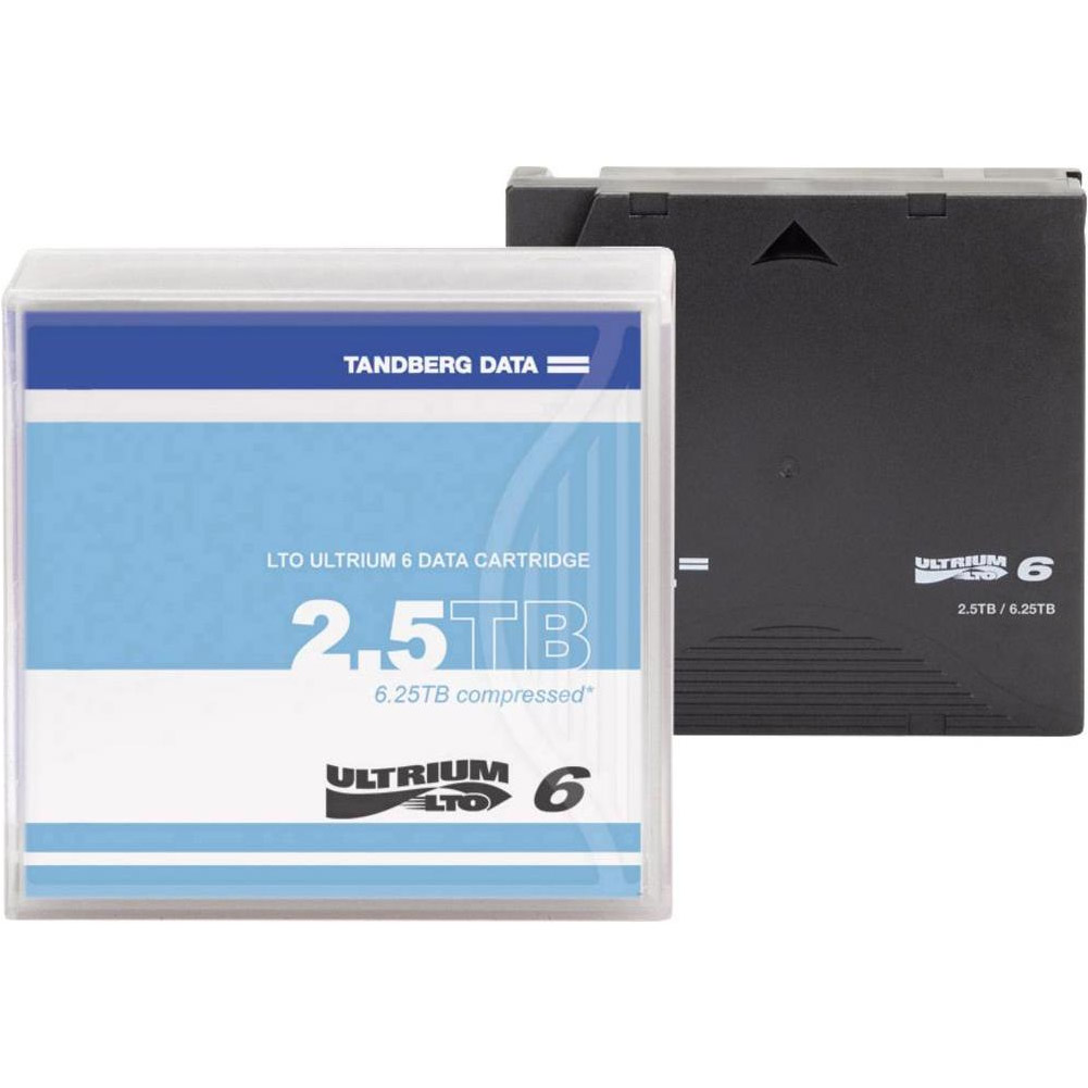 1PK LTO6 ULTRIUM 2.5/6.25TB TAPE CARTRIDGE
