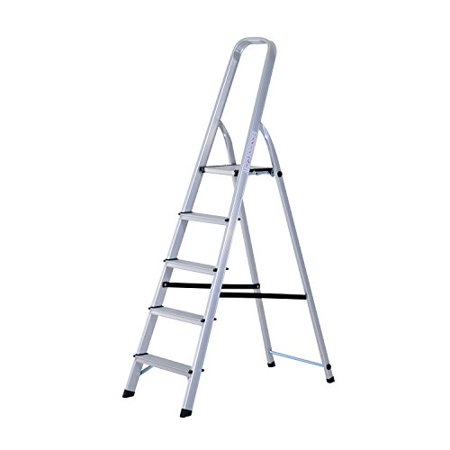 Prime Homcom 5 Step Folding Aluminum Step Stool Ladder Walmart Com Machost Co Dining Chair Design Ideas Machostcouk