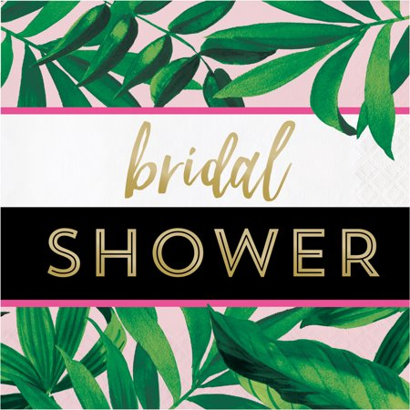 Bridal Shower Tropical Luncheon Napkins