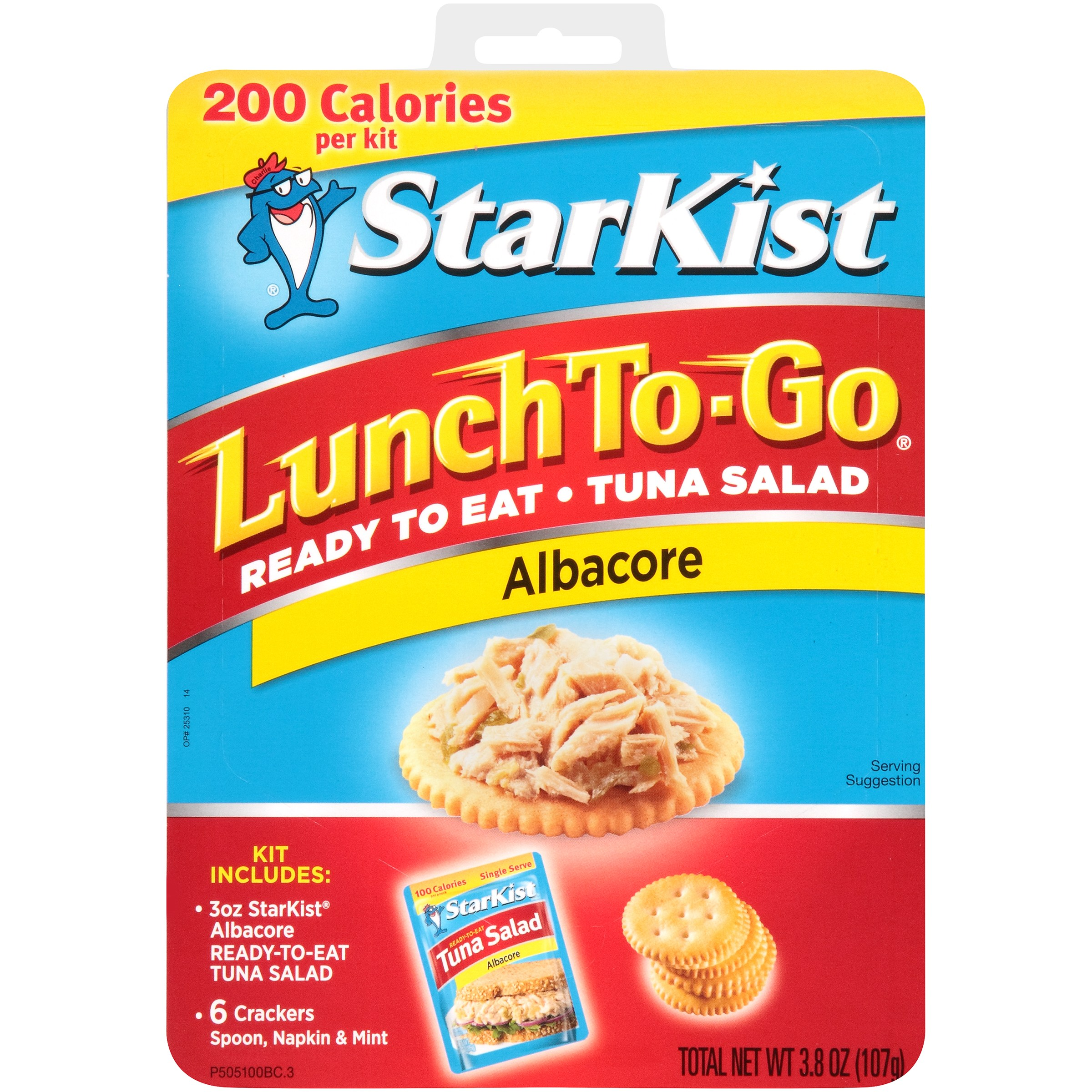 StarKist Lunch To-Go, Ready-to-Eat Tuna Salad, Albacore, 3.8 Ounce Box