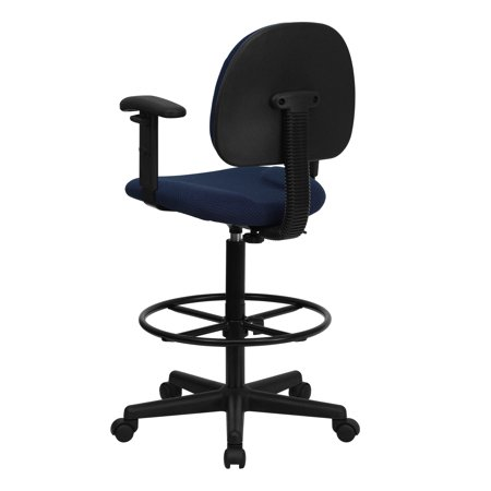 Enjoyable Ergonomic Multi Function Drafting Stool With Arms Multiple Colors Gmtry Best Dining Table And Chair Ideas Images Gmtryco