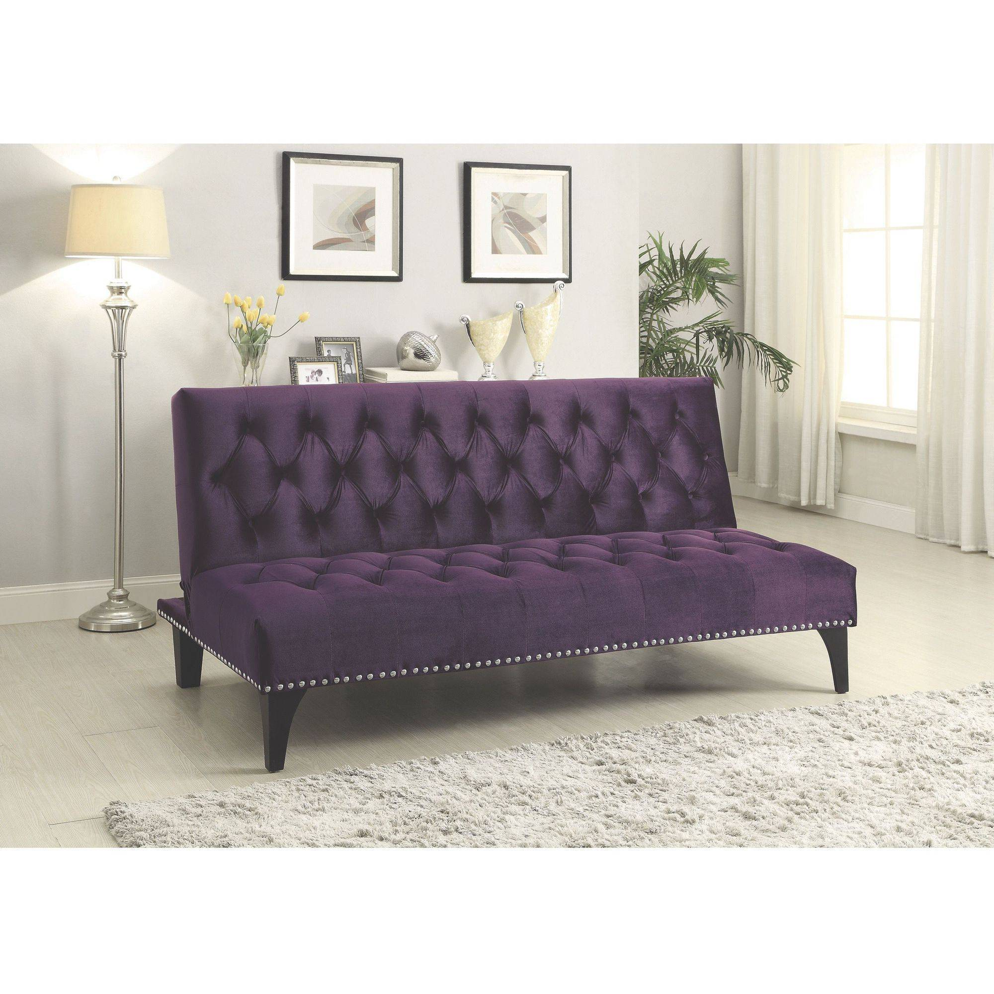Coaster Company Purple Sofa Bed