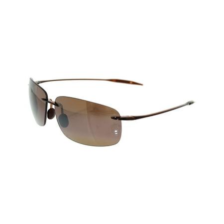 Maui Jim Kula Sunglasses - Polarized Metallic Gloss Copper/HCL Bronze, One (Maui Jim Punchbowl)
