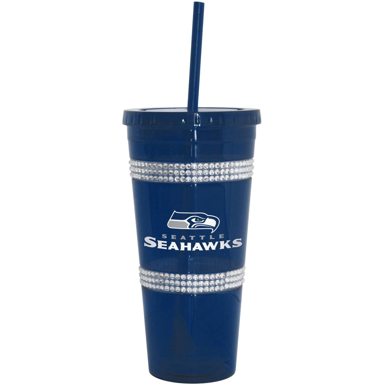 Boelter Brands Llc Nfl Seattle Seahawks Double Bling Tumbler