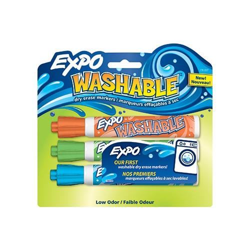 EXPO WASHABLE 3/PK ASST BULLET SAN1761207