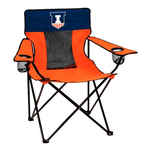 Logo NCAA Illinois Elite Chair