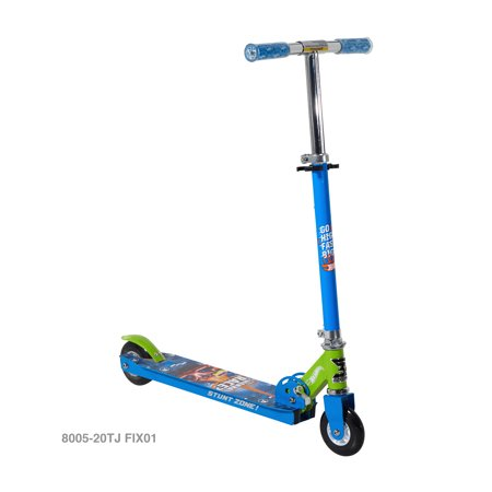 2 Wheel Hot Wheels Boys Scooter with Adjustable Handlebars ()