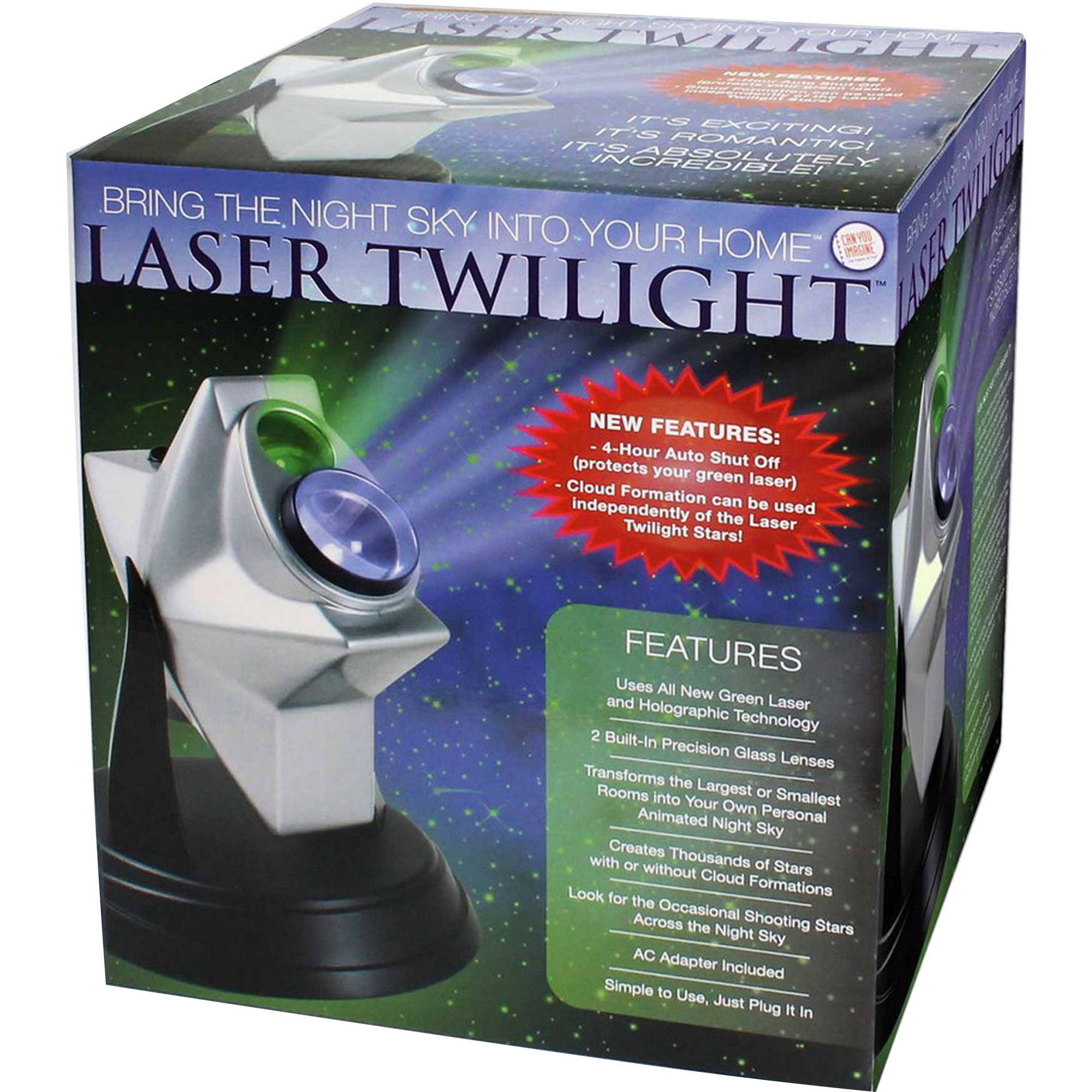 Can You Imagine Laser Twilight Ceiling Projector