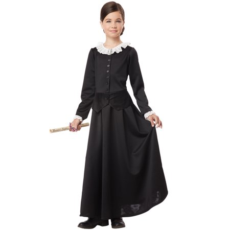 Susan B. Anthony/Harriet Tubman Child Costume - Kids Black Bear Costume