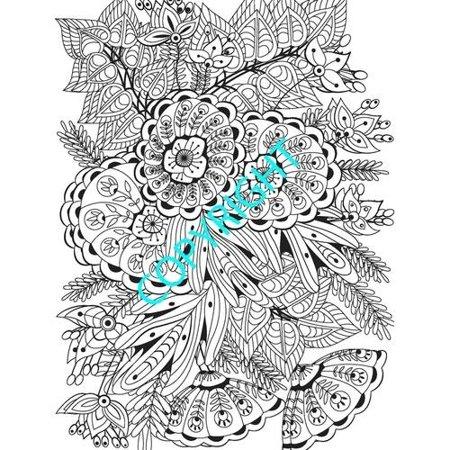 wonders color art for everyone adult coloring book walmartcom