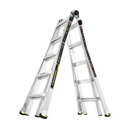 Gorilla Ladders 22 Ft Mpx Aluminum Telescoping Multi
